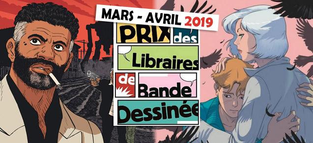 Prix des libraires mars/avril 2019