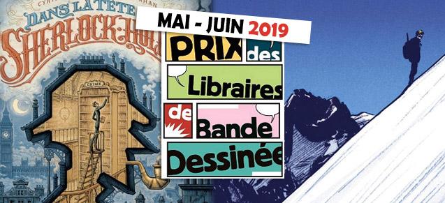Prix des libraires mai / juin 2019