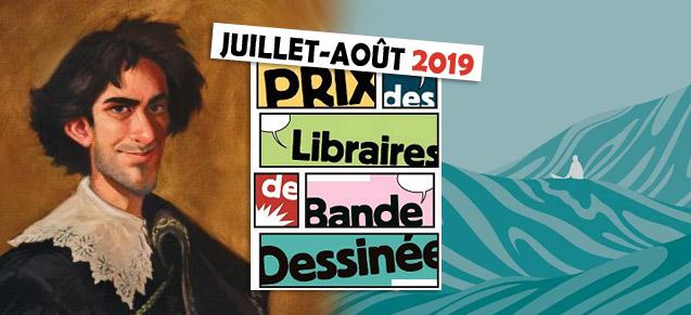 Prix des libraires juillet et août 2019