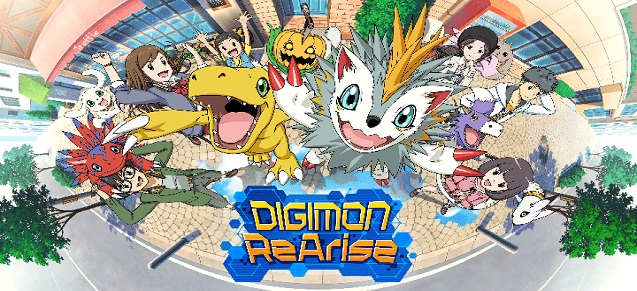 DIGIMON ReArise arrive sur iOS et Android