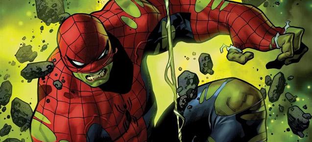 Spider-Man vert de rage !
