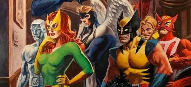 Alex Ross aux petits soins pour une anthologie Marvel !