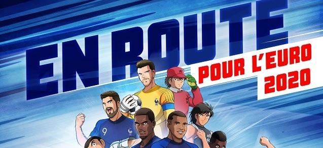 Captain Tsubasa s'associe à la Fédération Française de Football
