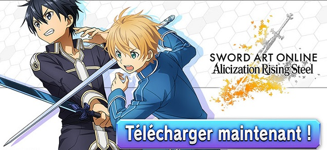 Sword Art Online sur mobile