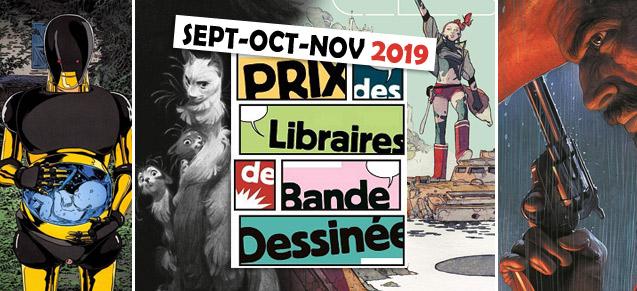 Prix des libraires sept-nov 2019