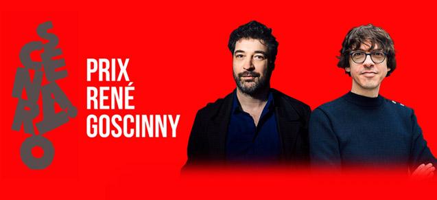 Prix René Goscinny 2020 (scénario) : de Bonneval et Vehlmann