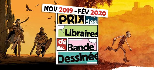 Prix des Libraires nov 2019 - fév 2020