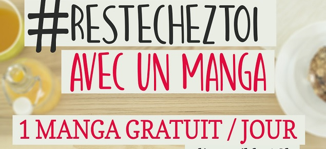 AKATA rejoint #ResteChezToi avec un manga