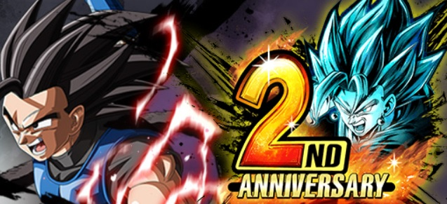 Dragon Ball Legends fête son 2e anniversaire
