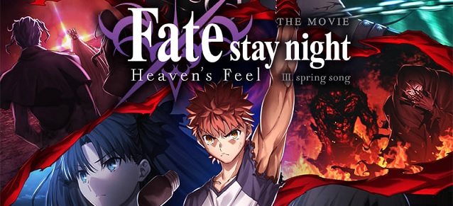 Le final de Fate/stay night [Heaven's Feel] au cinéma !