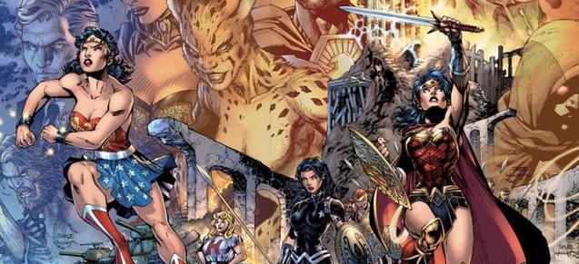 Jim Lee in love... with Wonder Woman !