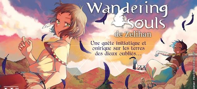 Wandering Souls sélectionné pour le Prix des collèges FIBD 2021