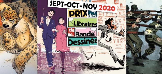 Prix des Libraires sept - nov 2020