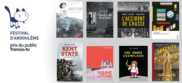 Prix du Public au FIBD, les 8 albums en lice