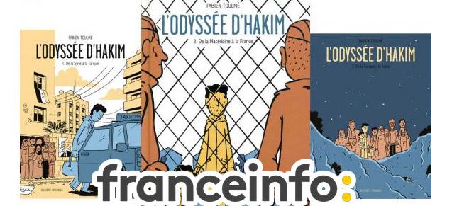 L'Odyssée d'Hakim T3, Prix franceinfo de la BD d'actualité et de reportage