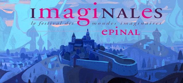 Stephane Fert signe l'affiche des Imaginales 2021