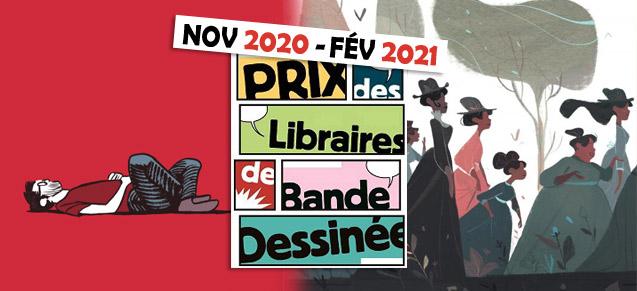 Prix des Libraires nov 2020 - fév 2021