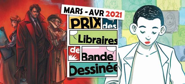 Prix des Libraires mars avril 2021