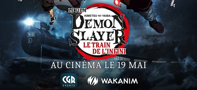 Demon Slayer - Le film : Le train de l'infini, au cinéma à partir du 19 mai !