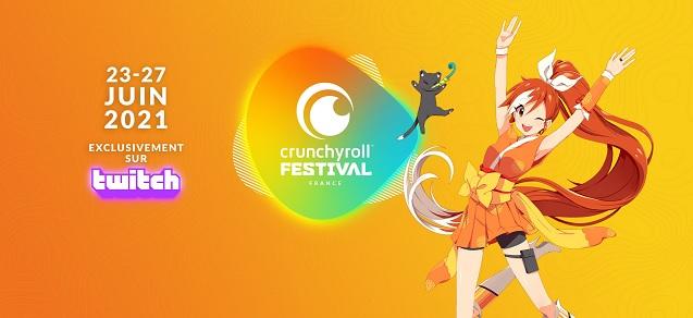 Crunchyroll et Kazé lancent Crunchyroll Festival