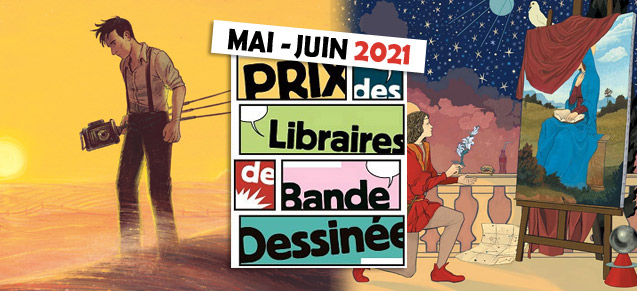 Prix Canal BD mai et juin 2021