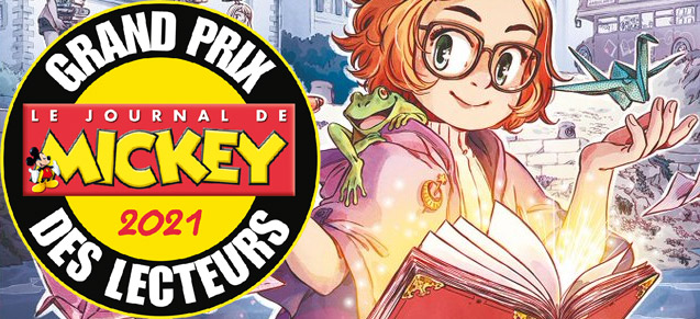 Le Grimoire d'Elfie, Grand Prix des lecteurs de Mickey 2021