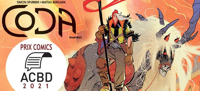 Coda, Prix Comics ACBD 2021