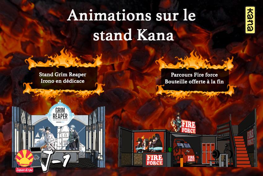 Japan Expo 2017 : récapitulatif des dédicaces, animations et goodies des éditions Kana