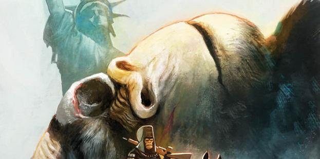 Kong débarque sur La Planète des Singes