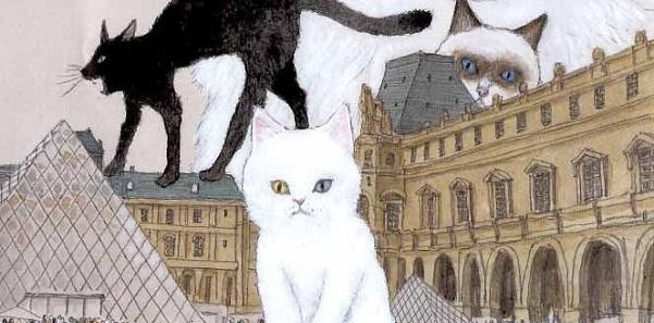 Les chats de Taiyô Matsumoto font leurs griffes au Louvre
