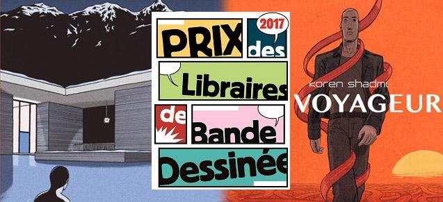 L'aimant et Voyageur, prix des libraires juillet/août 2017