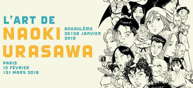 Angoulême 2018 : Expo Urasawa