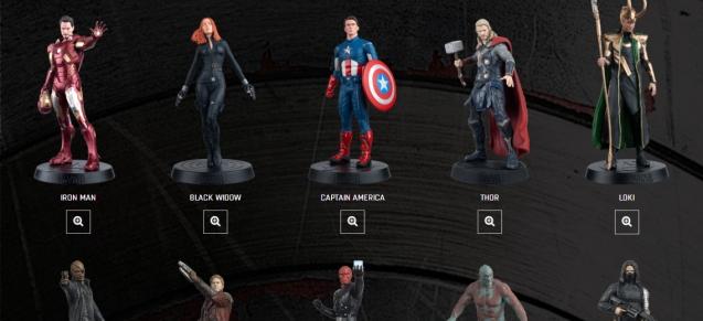 Eaglemoss lance une collection de figurines Marvel
