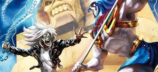 Heavy Metal lance des comics Iron Maiden !