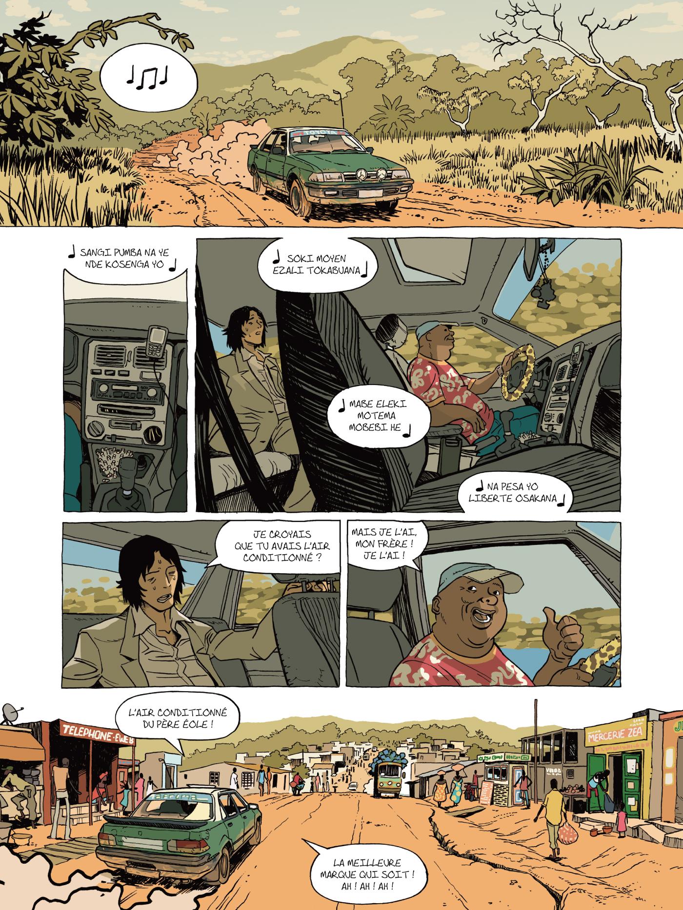 preview de  Trilogie africaine T3