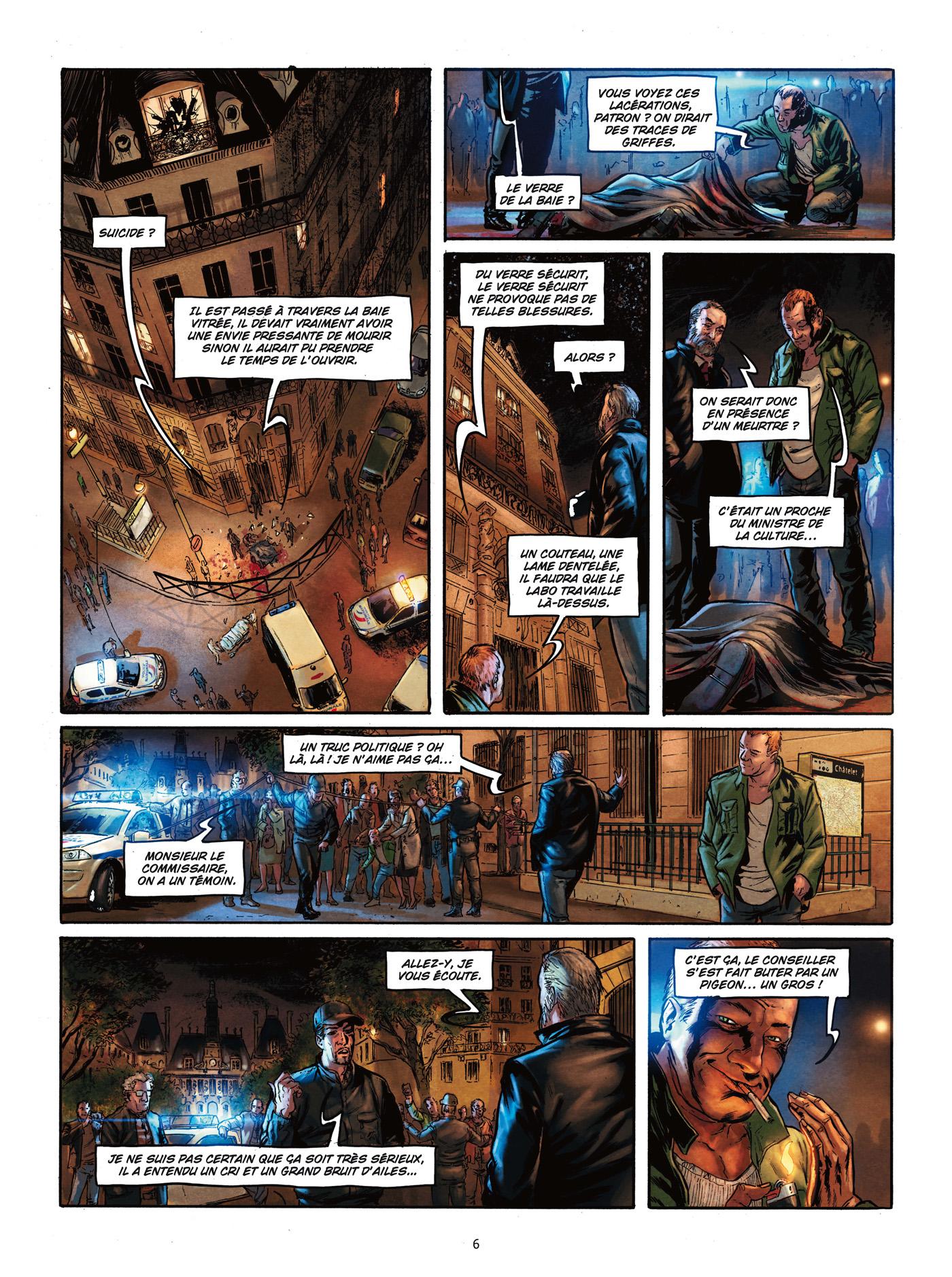preview de  Paris maléfices T1