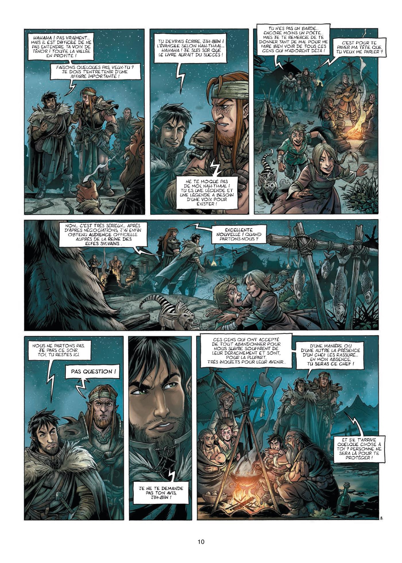 preview de  Elfes – cycle Les semi elfes, T4