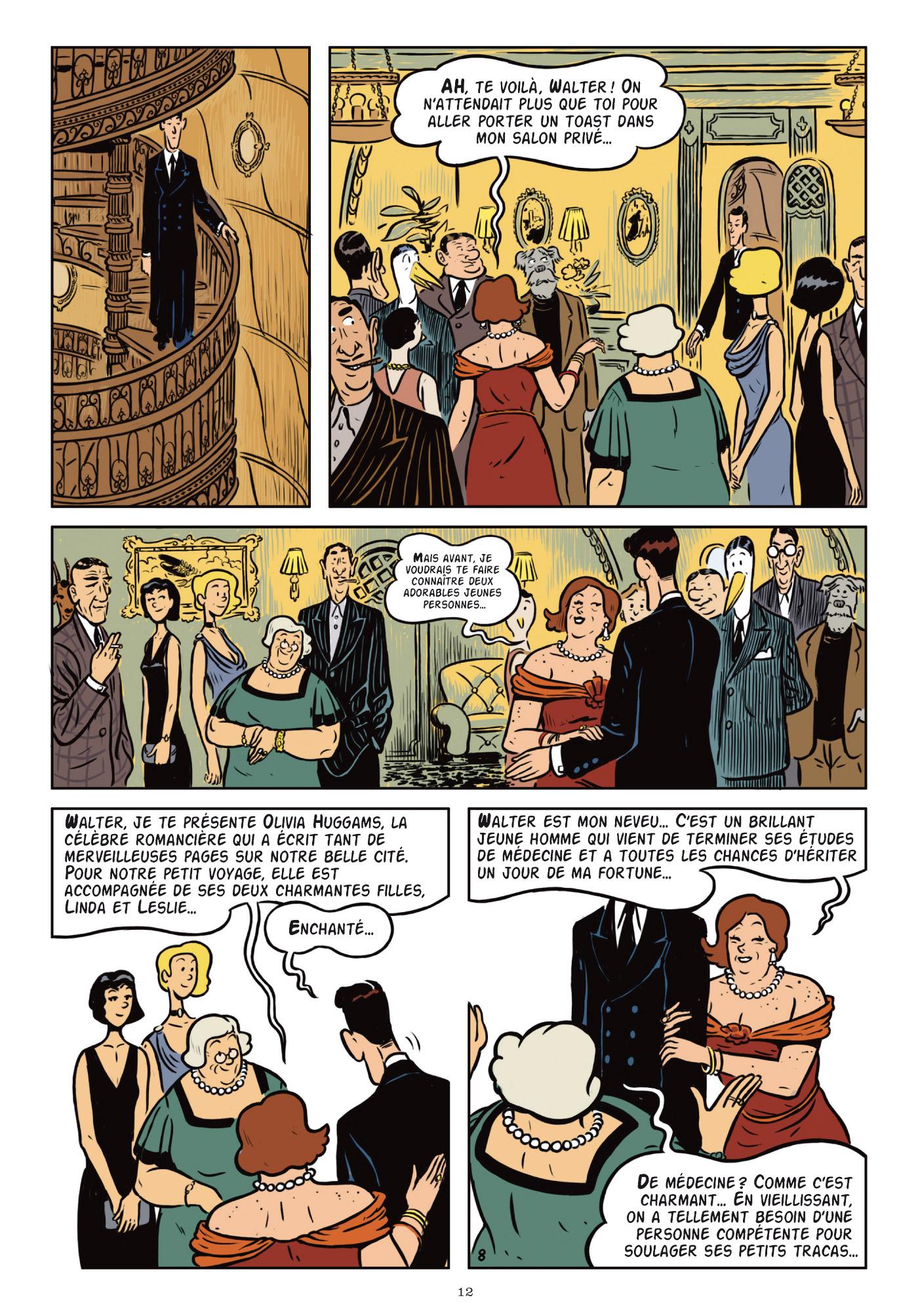 preview de L' Extravagante croisière de Lady Rozenbilt