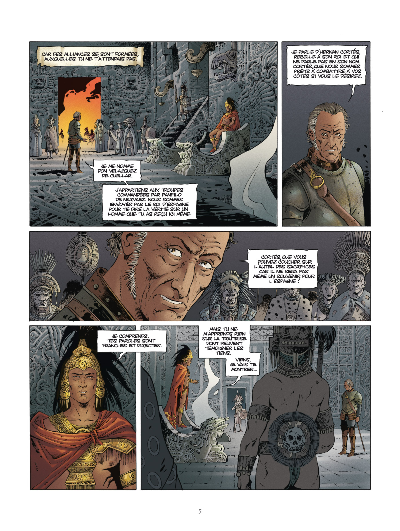 preview de  Conquistador – cycle 2, T3