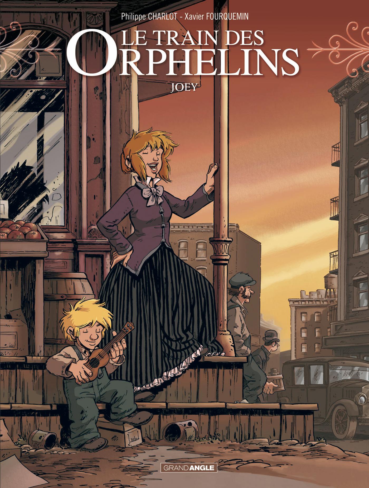 preview de Le Train des orphelins – cycle 2, T4