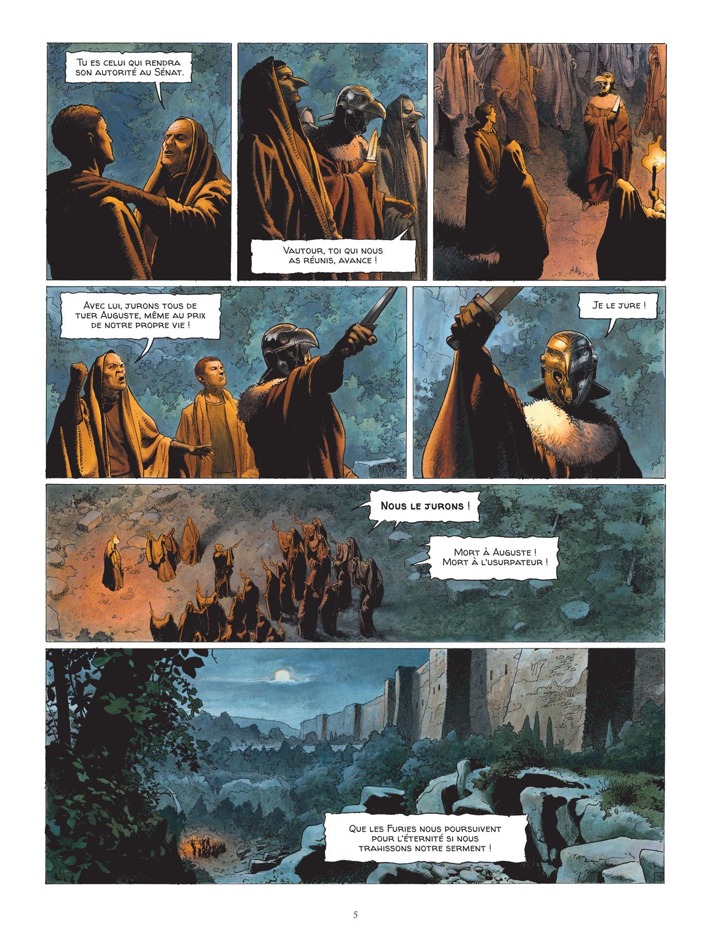 preview de  Alix senator – cycle 1 : La Conjuration des Rapaces, T3