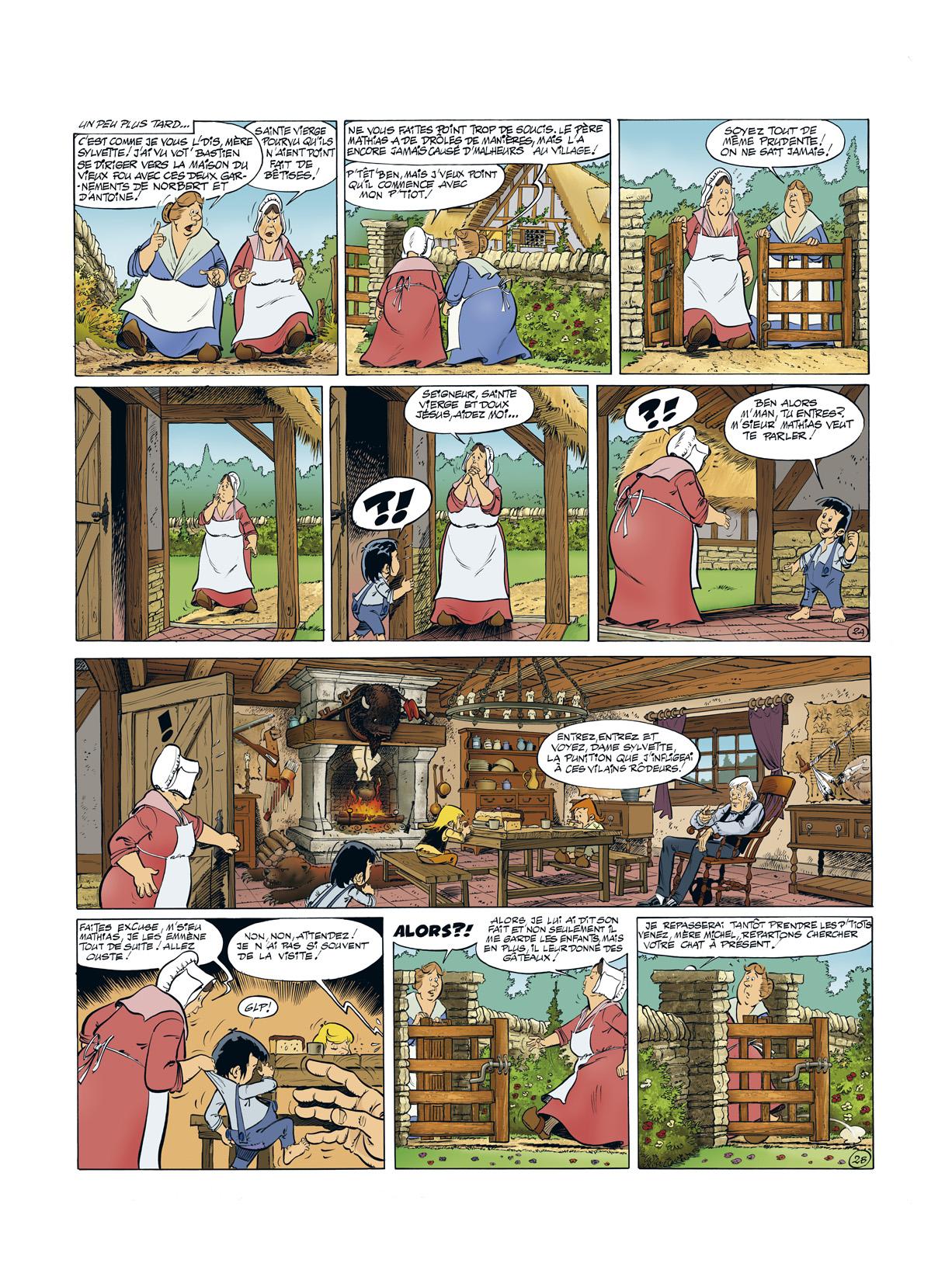 preview de Les Mémoires de Mathias T1